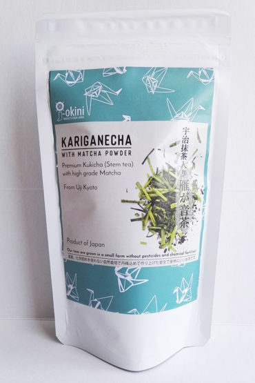 Japanese-Kariganecha-with-Matcha-green-tea-powder-100g