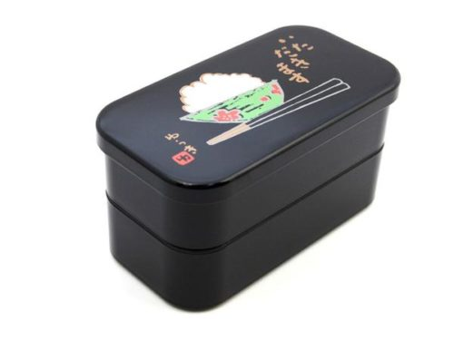 Black large lunch box 3