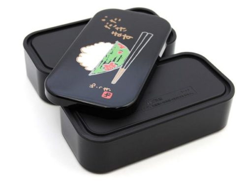 Black large lunch box 4