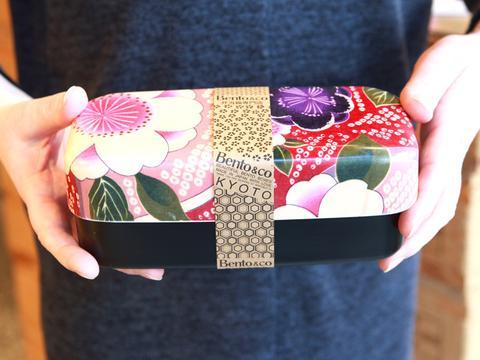 Kimono pattern lunch box large 3