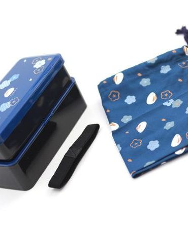 bunny two tier lunch box
