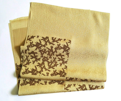 Japanese-silk-scarf-golden-brown33