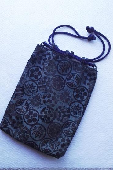 Kamon-bag-navy-blue