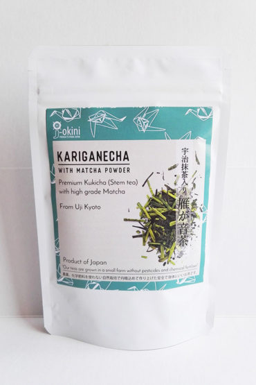 Japanese-Kariganecha-with-Matcha-green-tea-powder-50g