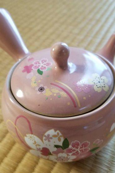 Japanese Kyusu teapot Sakura1
