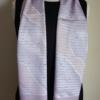 Light purple silk scarf