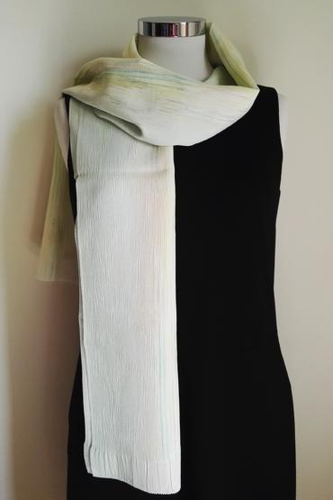 Pale-green-silk-scarf