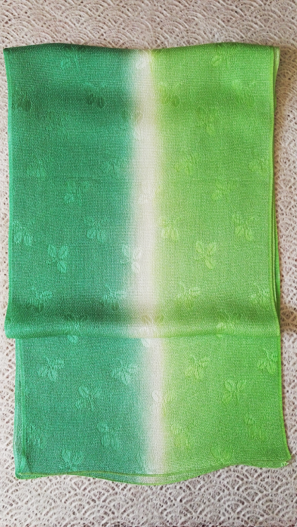 Shamrock-Green-Gradation-Silk-Scarf-bb