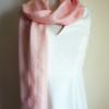 Silk scarf pink