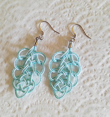 Mizuhiki-earrings-blue