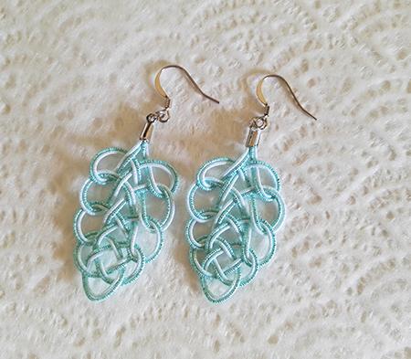 Mizuhiki-earrings-blue