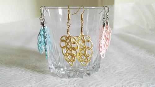 Mizuhiki-earrings-gold