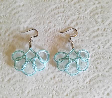Mizuhiki-earrings-round-blue