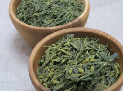 Don't throw away brewed green tea leaves!