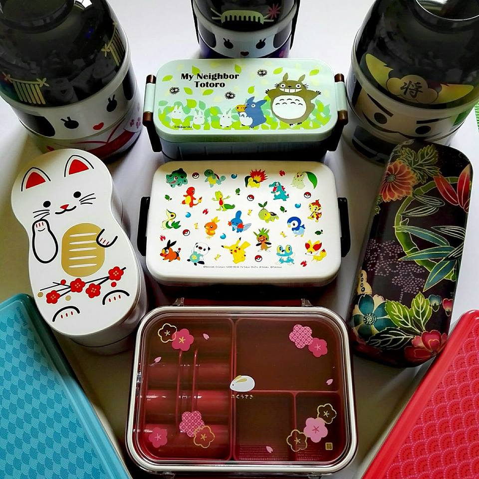 Japan made lunch boxes