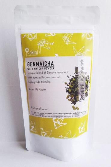 Japanese-Genmaicha-green-tea-with-Matcha-powder-100g