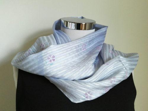 Mari-Japanese-Sakura-silk-scarf-blue