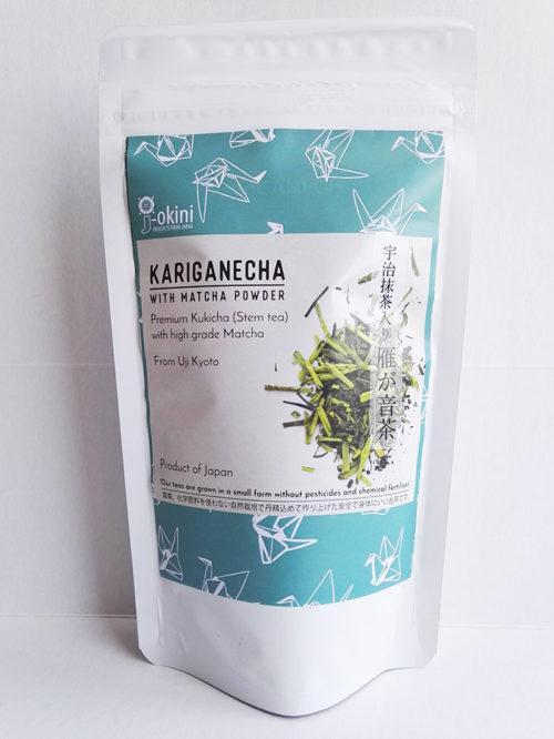 Japanese-Kariganecha-with-Matcha-green-tea-powder-100g
