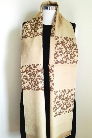 Japanese-silk-scarf-golden-brown22