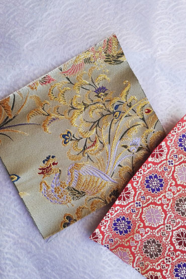 Japanese traditional fabric Phoenix