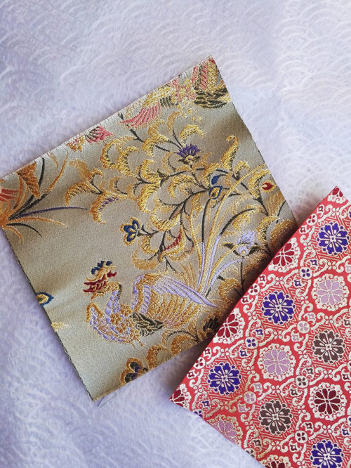Japanese traditional fabric Phoenix