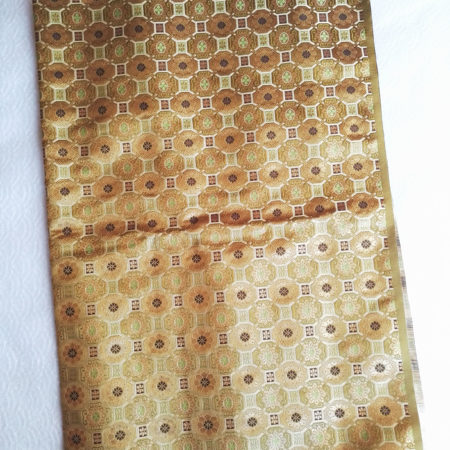 Japanese traditional fabric earth brown