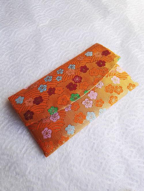 Kimono-wallet-Orange-Ume
