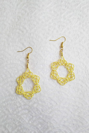 Mizuhiki-gold-earrings-1