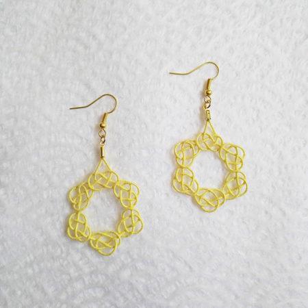 Mizuhiki-gold-earrings-1