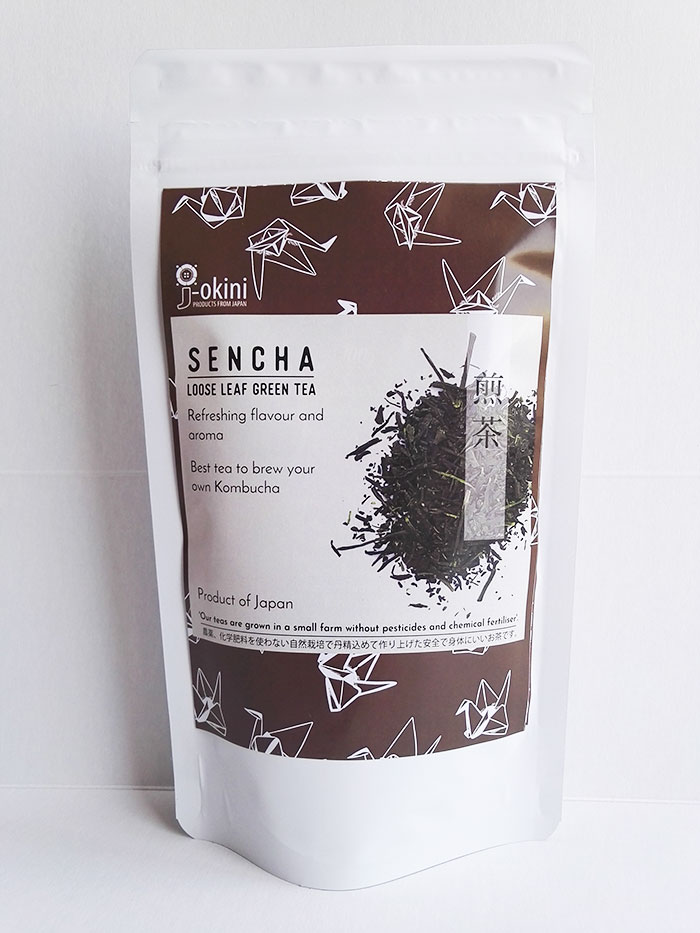 Sencha-loose-leaf-green-tea-100g