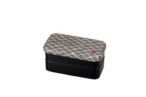 Ocean wave Japanese style bento box 2