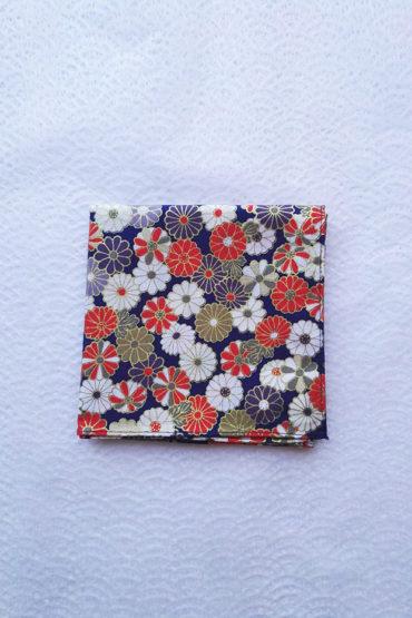 Bento-wrapping-Kiku-blue-2