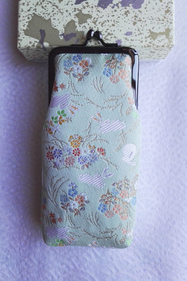 Glasses-case-green-bunny