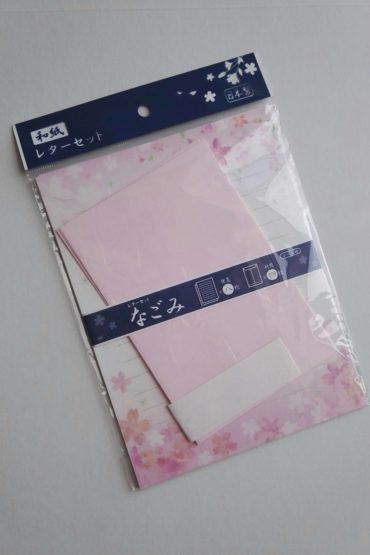 Washi letter set pink
