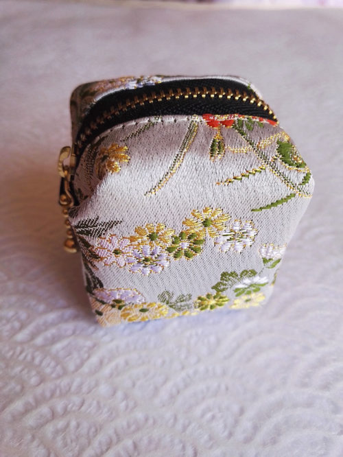Mini-wallet-light-green-flower