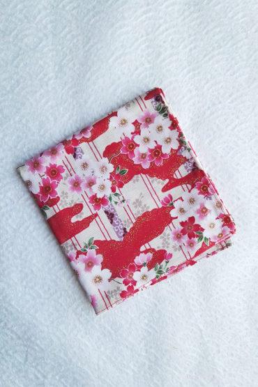 Furoshiki-red-Sakura
