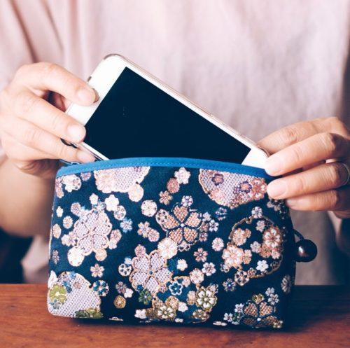 Kimono pouch example
