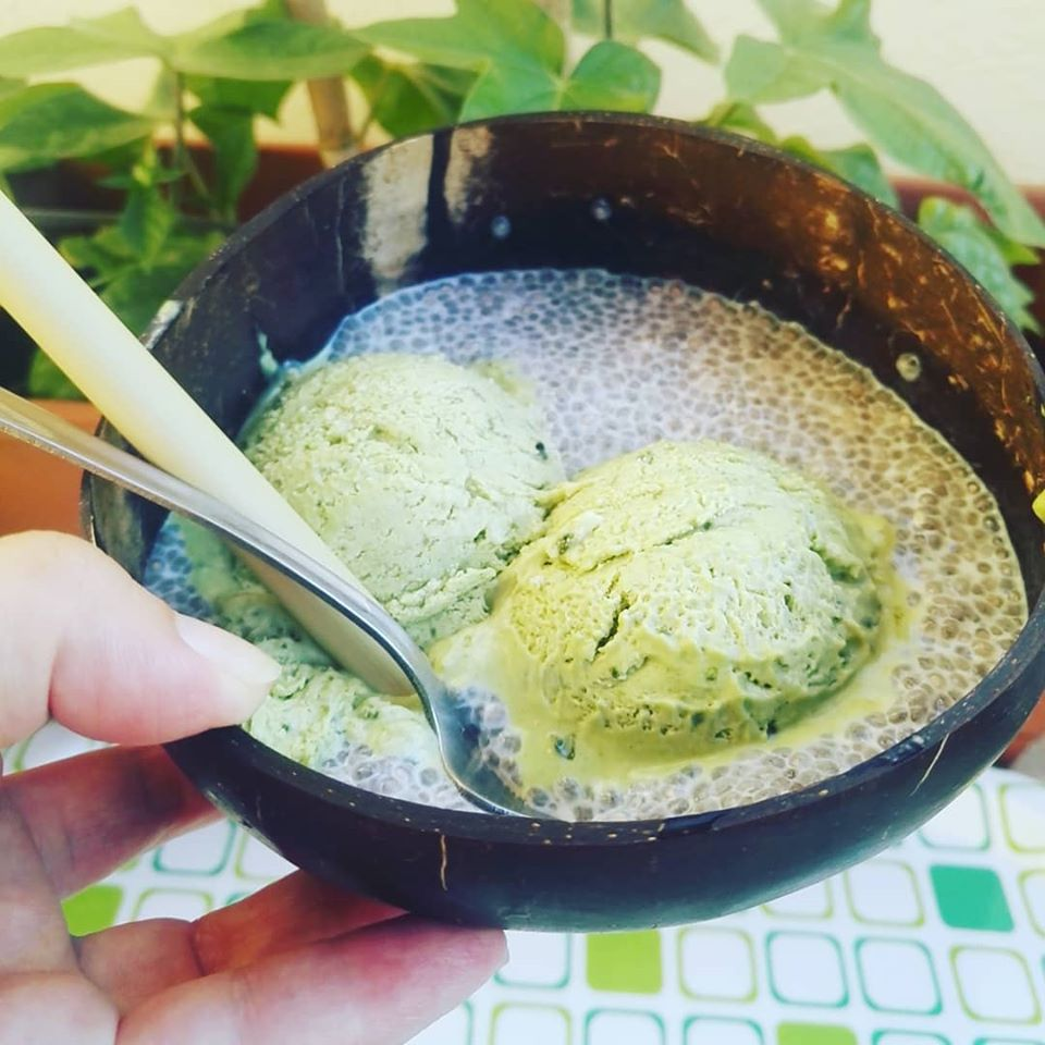 Matcha Ice-cream