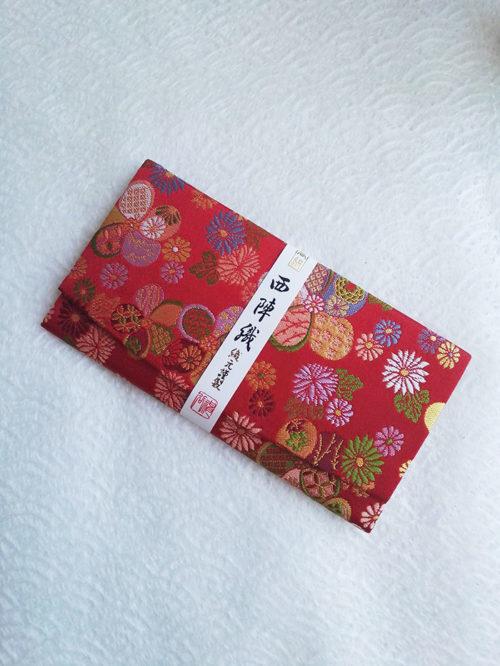 Kimono-wallet-(long)-red-traditional