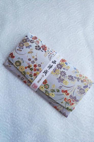Kimono-wallet-(long)-silver-grey