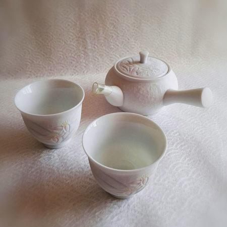 Vintage-Japanese-handmade-teapot-set