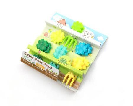 Mini forks clover