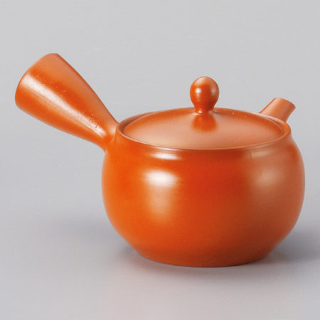 Tokoname Red Clay kyusu teapot