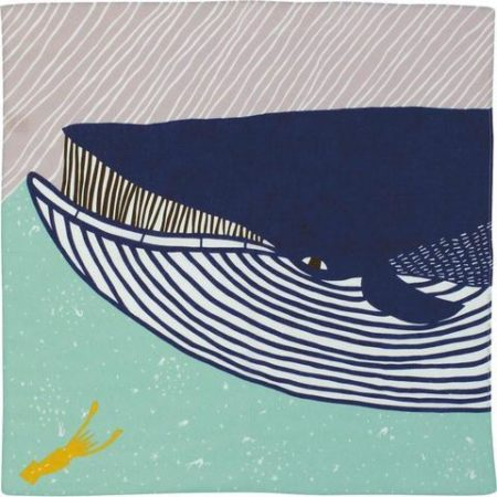 50cm Kata Kata musubi Whale Blue