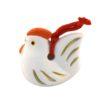 Japanese zodiac sign pottery bell chicken 2