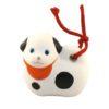 Japanese zodiac sign pottery bell dog 2