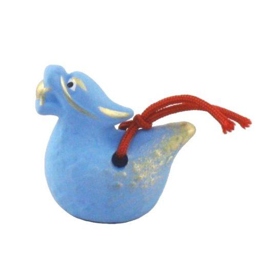 Japanese zodiac sign pottery bell dragon 2
