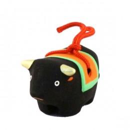 Japanese zodiac sign pottery bell ox 2