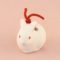 Japanese zodiac sign pottery bell rabbit