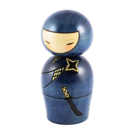 Kokeshi doll Ninja
